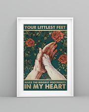 LITTLEST FEET BIGGEST FOOTPRINTS 11x17 Poster lifestyle-poster-5