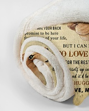 """To My Daughter Small Fleece Blanket - 30"""" x 40"""" aos-coral-fleece-blanket-30x40-lifestyle-front-18"""