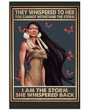 Native Woman 11x17 Poster front