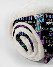 """To My Mom Small Fleece Blanket - 30"""" x 40"""" aos-coral-fleece-blanket-30x40-lifestyle-front-18"""