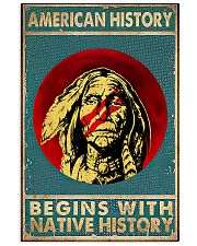 Native History 11x17 Poster front