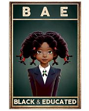 Bae Black Educated 11x17 Poster front