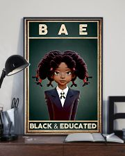 Bae Black Educated 11x17 Poster lifestyle-poster-2