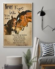 Horse Never Forget 11x17 Poster lifestyle-poster-1
