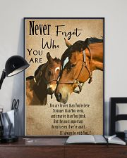 Horse Never Forget 11x17 Poster lifestyle-poster-2