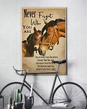Horse Never Forget 11x17 Poster lifestyle-poster-7