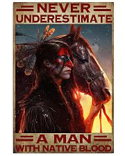 A Man With Native Blood 11x17 Poster front