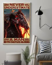 A Man With Native Blood 11x17 Poster lifestyle-poster-1