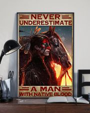 A Man With Native Blood 11x17 Poster lifestyle-poster-2