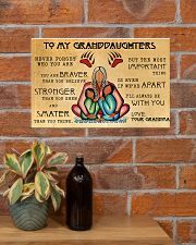 To My Granddaughters 17x11 Poster poster-landscape-17x11-lifestyle-23