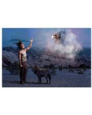 Native Man 17x11 Poster front