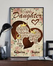 To My Daughter 11x17 Poster lifestyle-poster-2