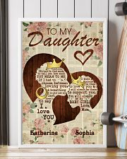 To My Daughter 11x17 Poster lifestyle-poster-4