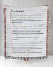 To My Future Self 50x60 - Woven Blanket aos-woven-throw-blanket-50x60-lifestyle-front-08