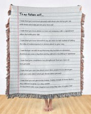 To My Future Self 50x60 - Woven Blanket aos-woven-throw-blanket-50x60-lifestyle-front-09