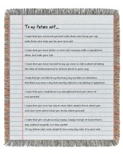 To My Future Self 50x60 - Woven Blanket front
