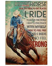 Ride Horse 11x17 Poster front