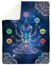 7 Chakras Sherpa Fleece Blanket tile