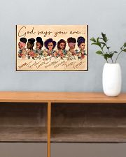 God Say You Are Unique 17x11 Poster poster-landscape-17x11-lifestyle-24