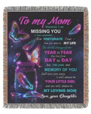 To My Mom 50x60 - Woven Blanket tile