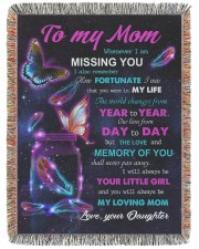 To My Mom 60x80 - Woven Blanket tile