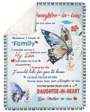 Im A Proud Daughter-in-law Sherpa Fleece Blanket tile