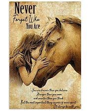 Horse Never Forget Who You Are 11x17 Poster front