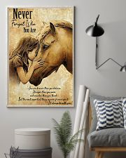 Horse Never Forget Who You Are 11x17 Poster lifestyle-poster-1