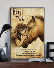 Horse Never Forget Who You Are 11x17 Poster lifestyle-poster-2