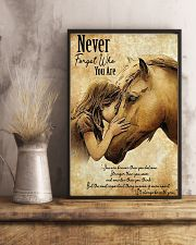 Horse Never Forget Who You Are 11x17 Poster lifestyle-poster-3
