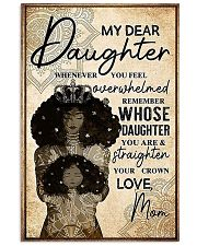 My Dear Daughter 11x17 Poster front