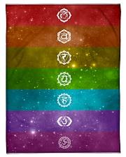 7 Chakras Fleece Blanket tile