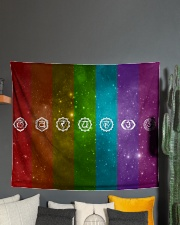 """7 Chakras Wall Tapestry - 60"""" x 51"""" aos-wall-tapestry-80x68-lifestyle-front-01"""