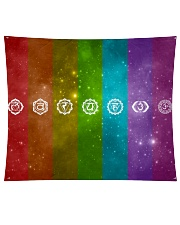 """7 Chakras Wall Tapestry - 60"""" x 51"""" front"""