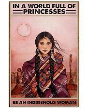 Indigenous Woman 11x17 Poster front
