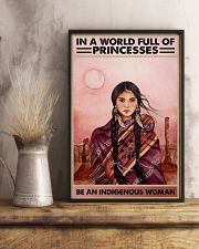 Indigenous Woman 11x17 Poster lifestyle-poster-3