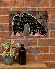Horse Best Friend 17x11 Poster poster-landscape-17x11-lifestyle-23