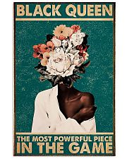 Powerful Black Queen 11x17 Poster front