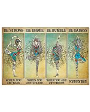 BE STRONG YOGA 17x11 Poster front