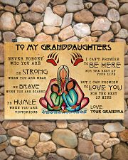 To My Granddaughters 17x11 Poster poster-landscape-17x11-lifestyle-15