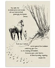 Horse Beside Me 11x17 Poster front