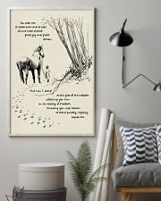 Horse Beside Me 11x17 Poster lifestyle-poster-1