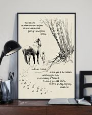Horse Beside Me 11x17 Poster lifestyle-poster-2