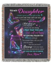 To My Daughter 50x60 - Woven Blanket tile