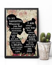To My Daughter 11x17 Poster lifestyle-poster-8