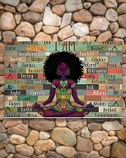 I am strong divine connected expressive loved 17x11 Poster poster-landscape-17x11-lifestyle-15