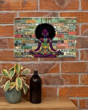 I am strong divine connected expressive loved 17x11 Poster poster-landscape-17x11-lifestyle-23