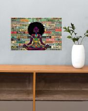 I am strong divine connected expressive loved 17x11 Poster poster-landscape-17x11-lifestyle-24