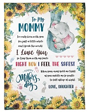 """To My Mommy Small Fleece Blanket - 30"""" x 40"""" front"""