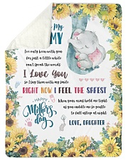 To My Mommy Sherpa Fleece Blanket tile